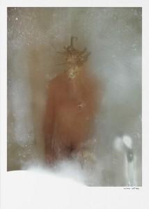'Méduse', offset rehaussé 70x50 cm - 2009