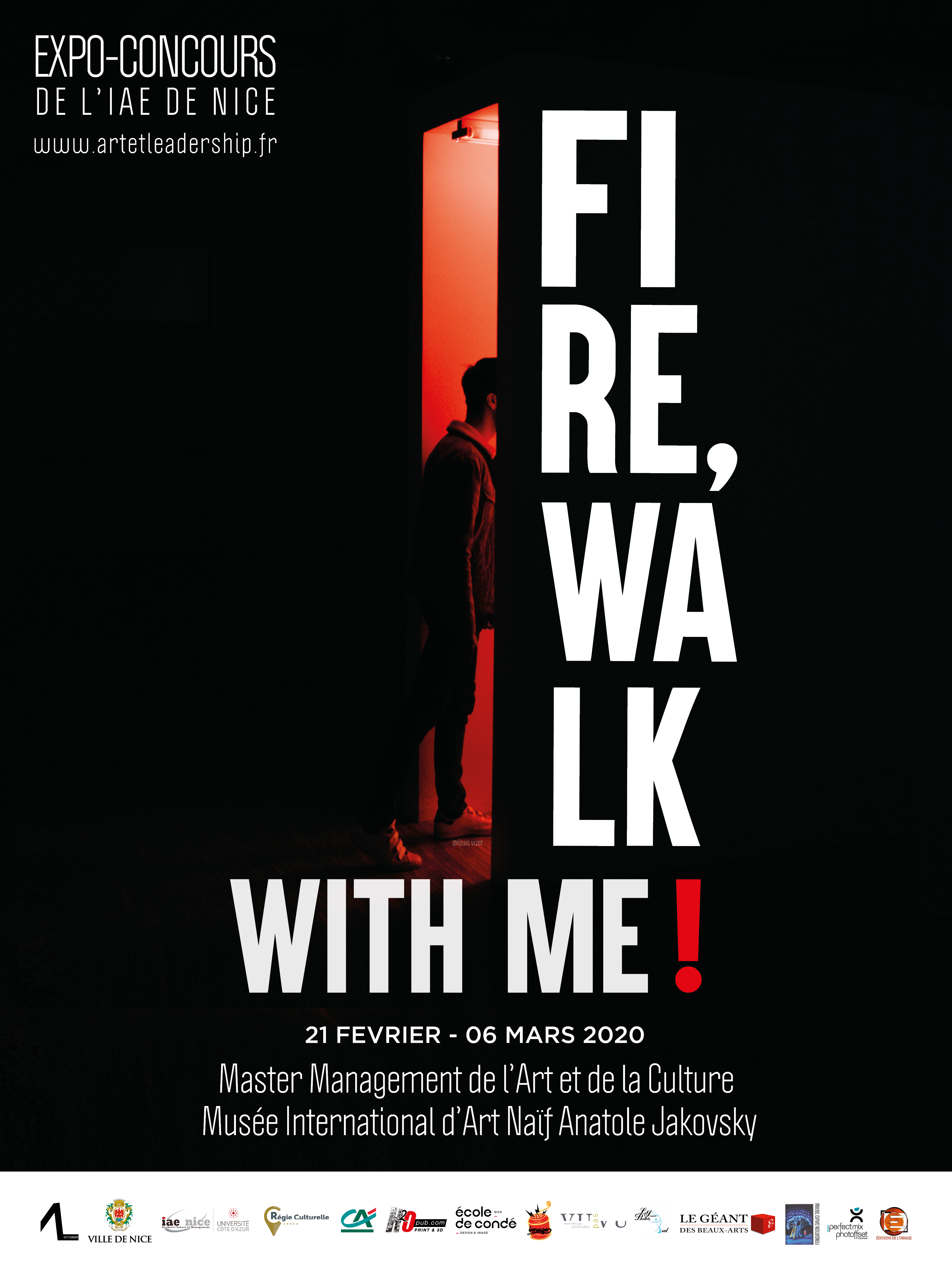 Affiche – Fire, walk with me !